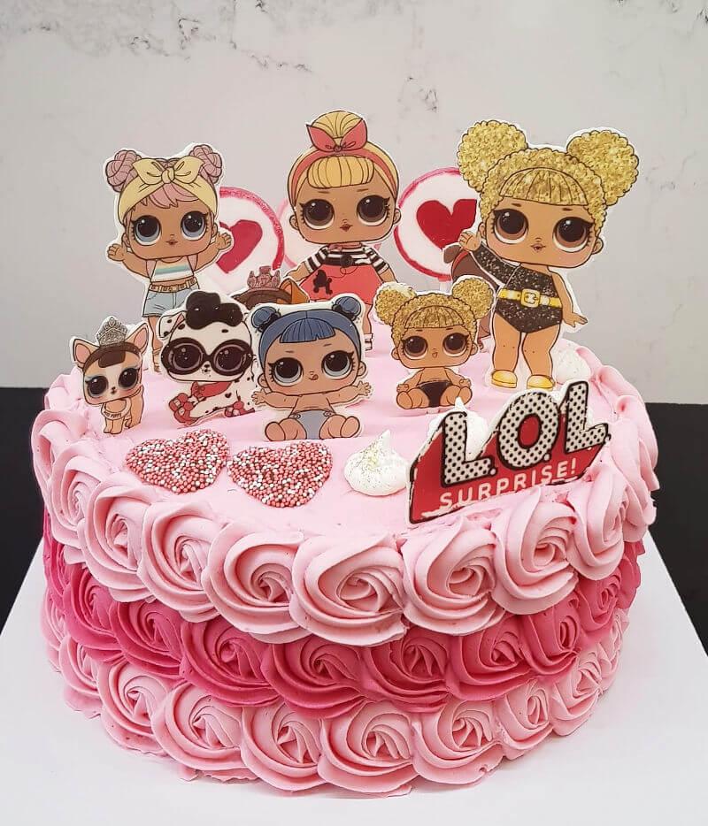 עוגת זילוף LOL