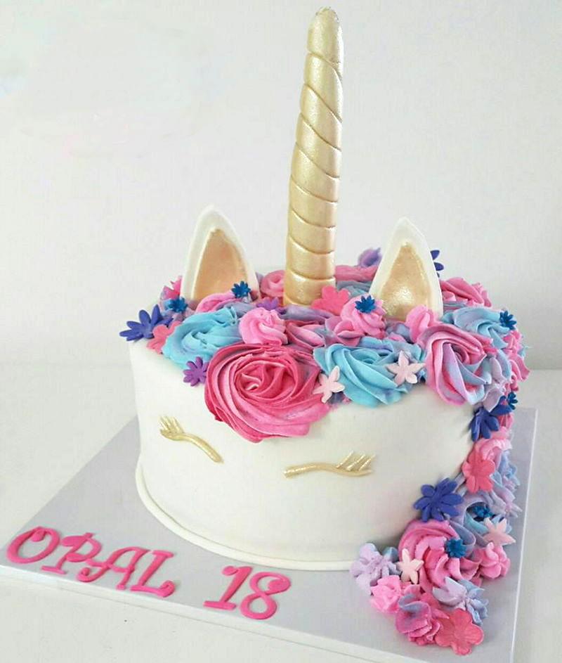 עוגת חד קרן ליום הולדת