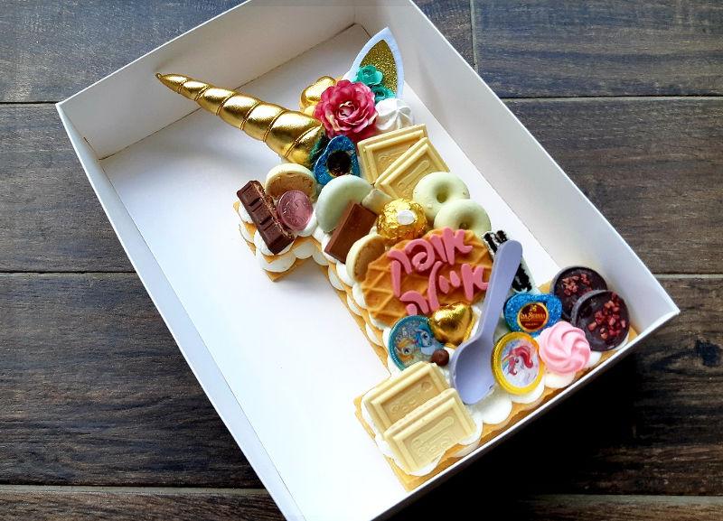 עוגת חד קרן מיוחדת לגיל שנה
