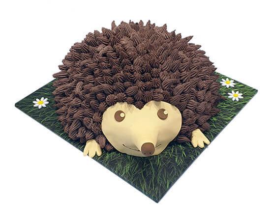 עוגת חיות קיפוד תלת מימד