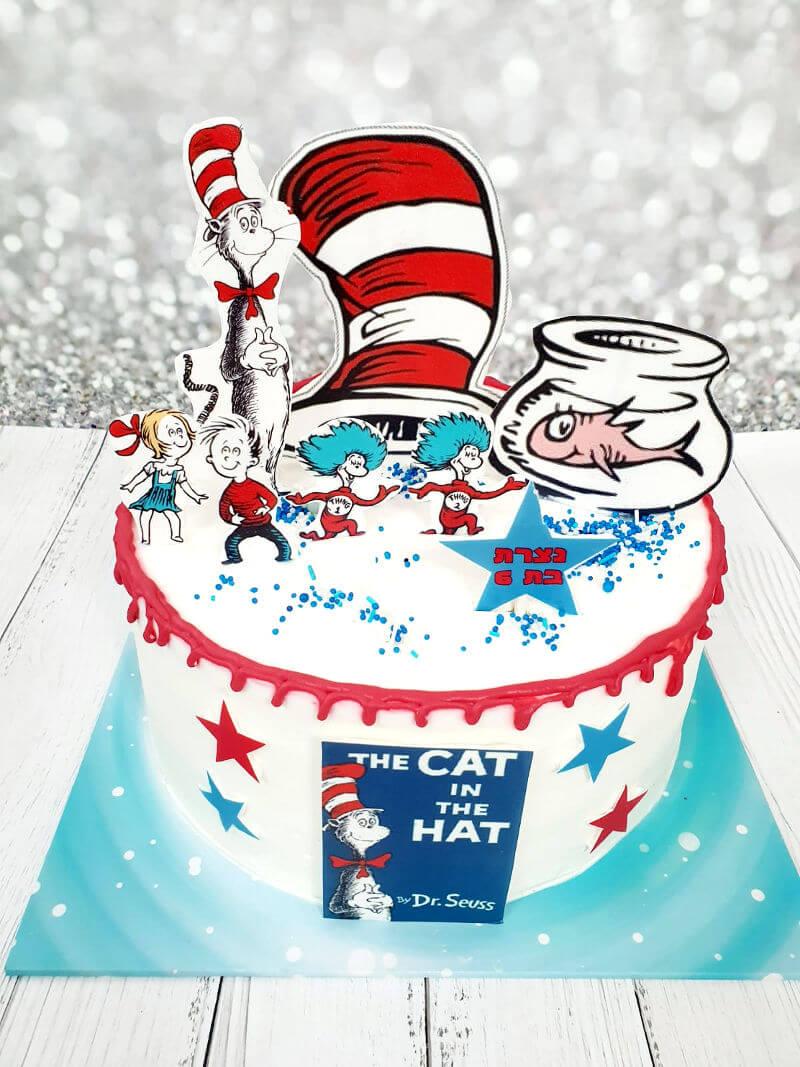 עוגת חתול תעלול