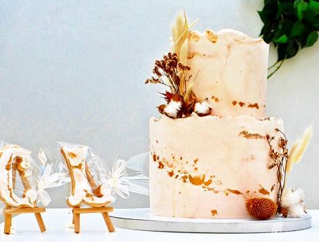 עוגת חתונה חורפית