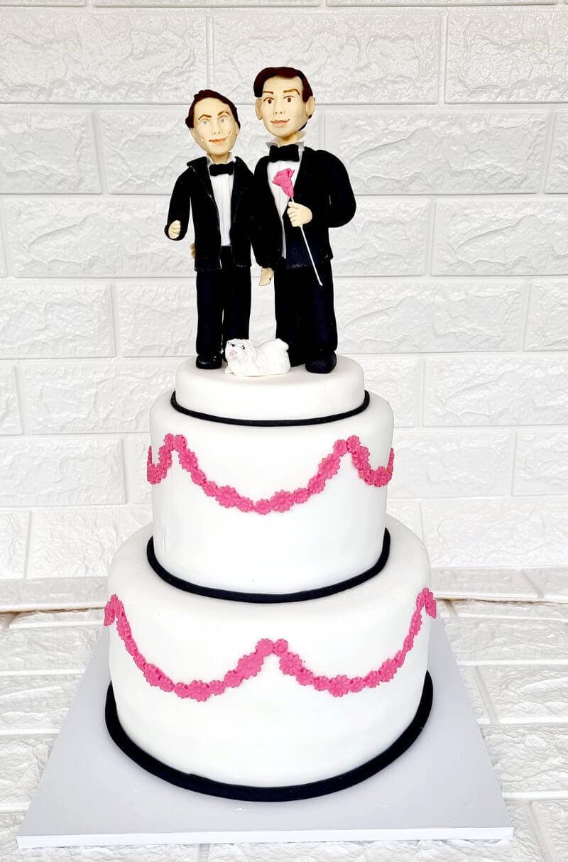 עוגת חתונה לגברים