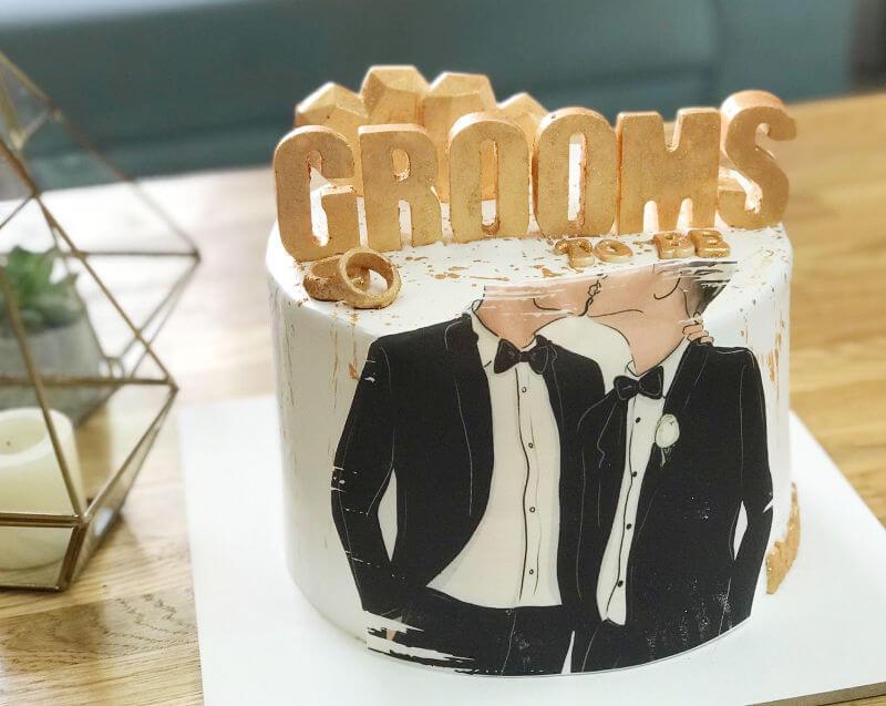 עוגת חתונה מהממת