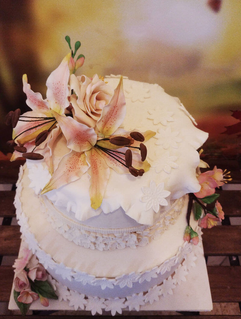 עוגת חתונה מיוחדת