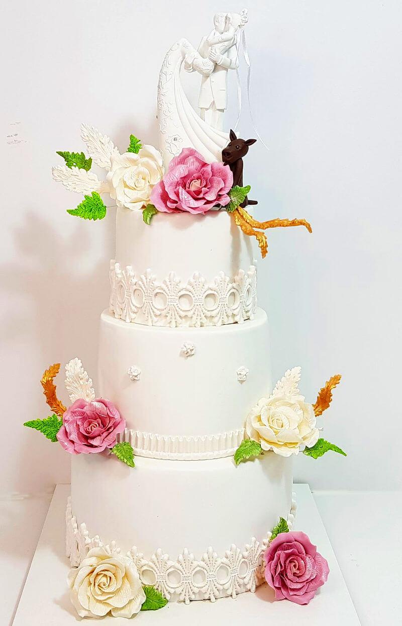עוגת חתונה עם כשרות