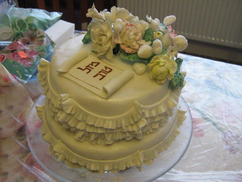 עוגת חתונה 2 קומות