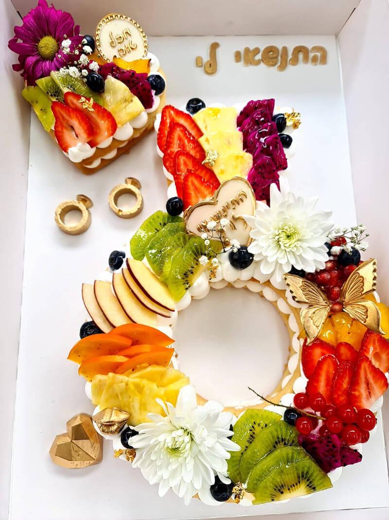 עוגת טבעת אירוסין