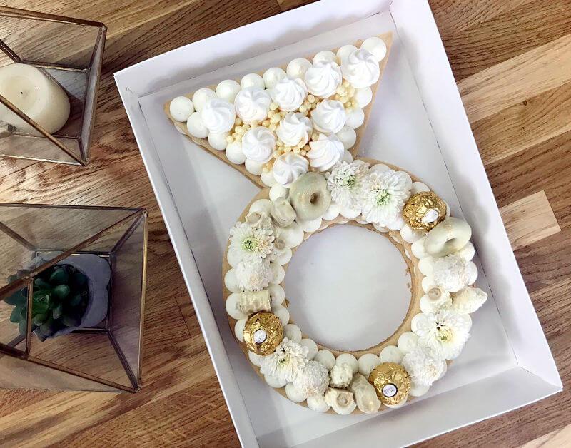 עוגת טבעת אלגנטית
