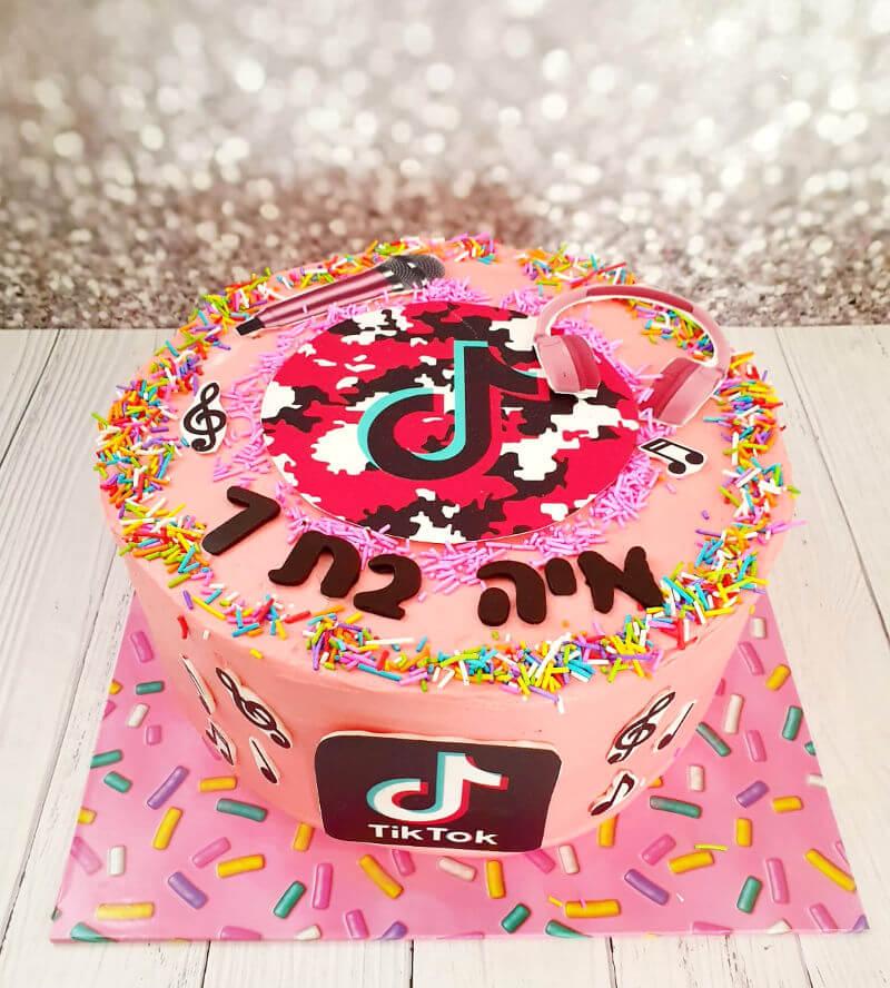 עוגת טיקטוק