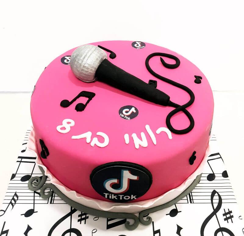 עוגת טיק טוק ליום הולדת