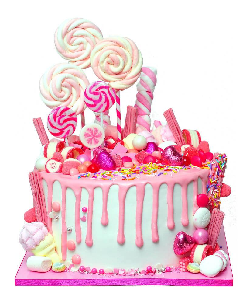 עוגת טפטופים וסוכרית
