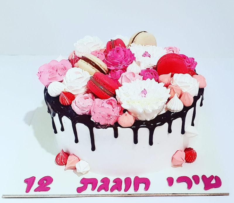 עוגת טפטופים לבת מצווה