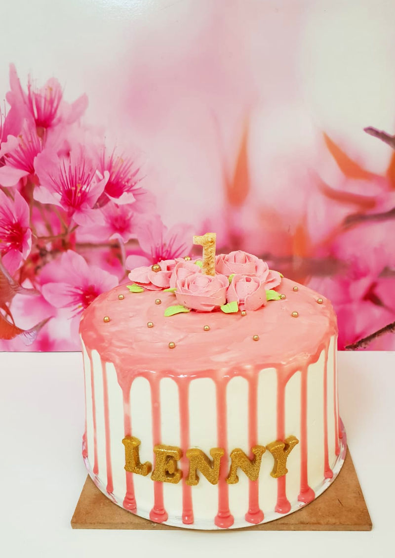 עוגת טפטופים לגיל שנה