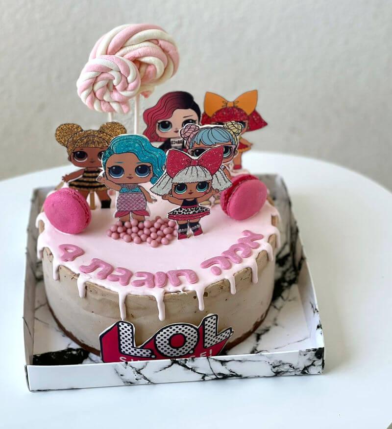 עוגת טפטופים לול