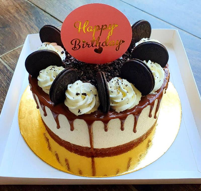 עוגת טפטופים DRIP CAKE אוריאו