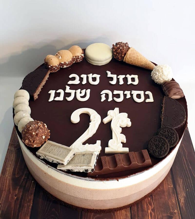עוגת טריקולד אלגנטית