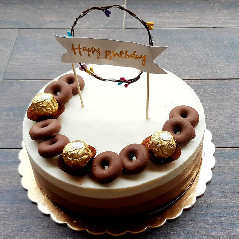 עוגת טריקולד ליום הולדת