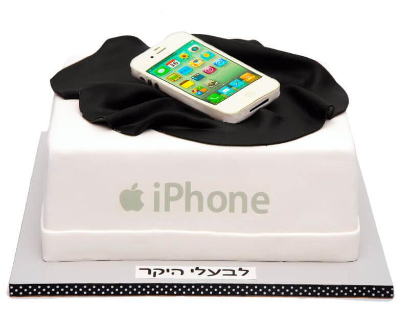 עוגת יום הולדת אייפון
