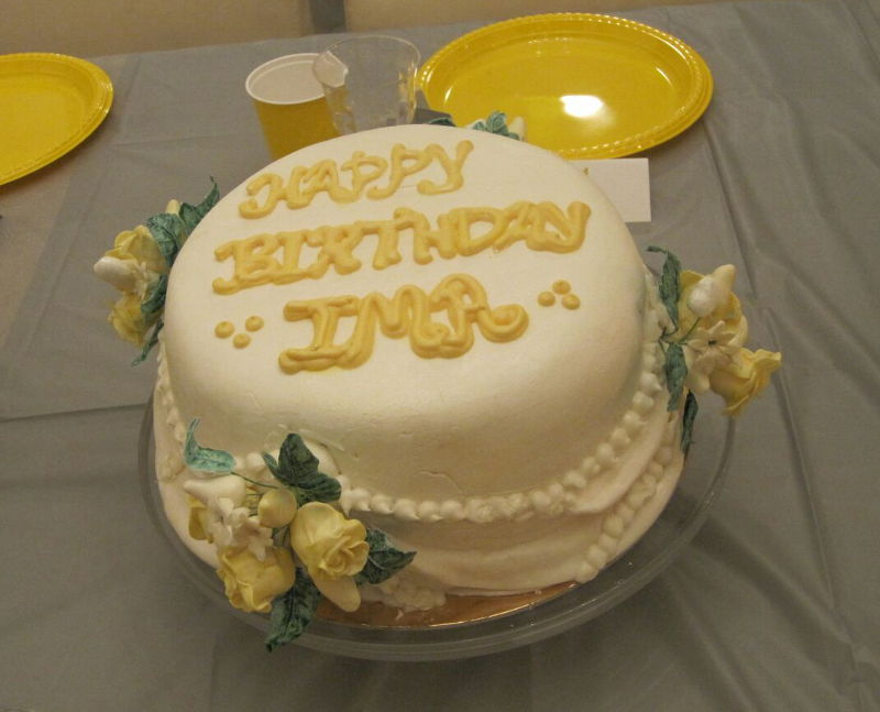 עוגת יום הולדת לאמא
