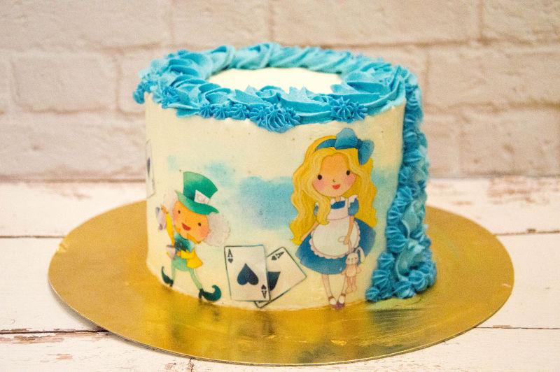 עוגת עליסה בארץ הפלאות