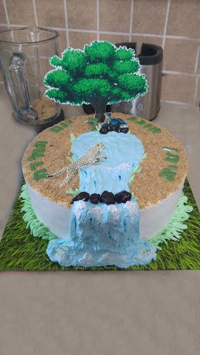 עוגת זילוף ליום הולדת בנים