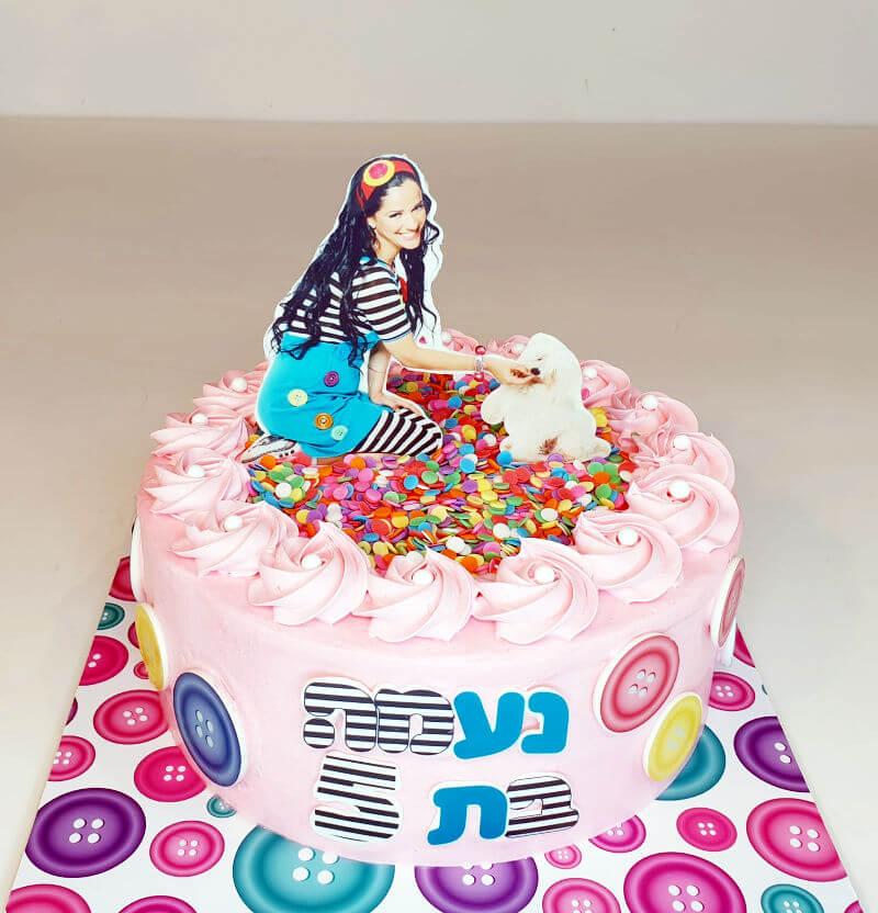 עוגת יום הולדת בעיצוב מיקי
