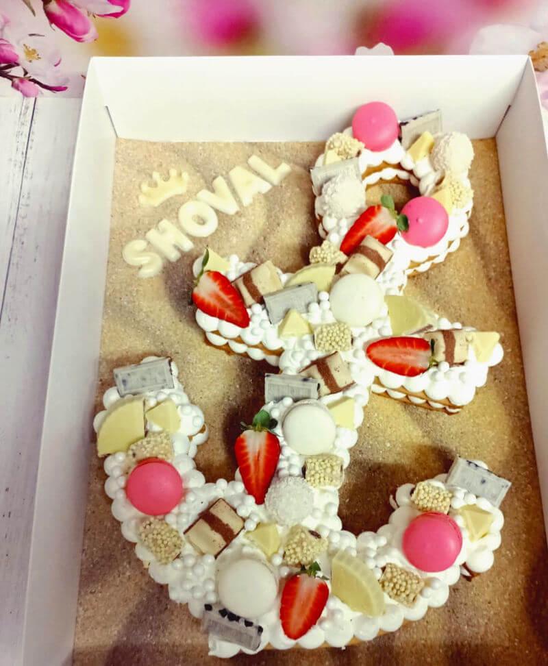 עוגת יום הולדת בעיצוב עוגן
