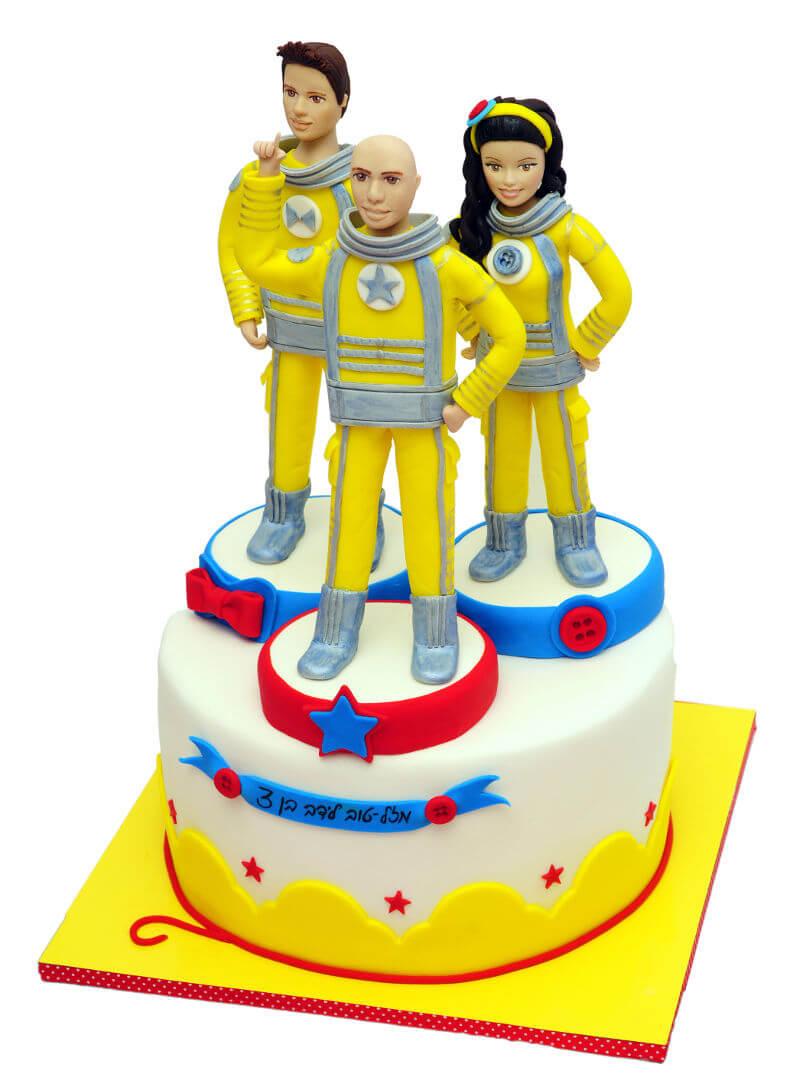 עוגת יום הולדת גיבורי האור