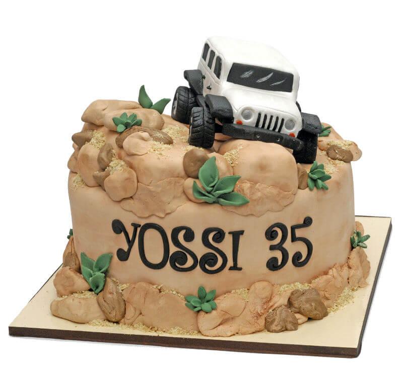 עוגת יום הולדת למבוגרים גיפ