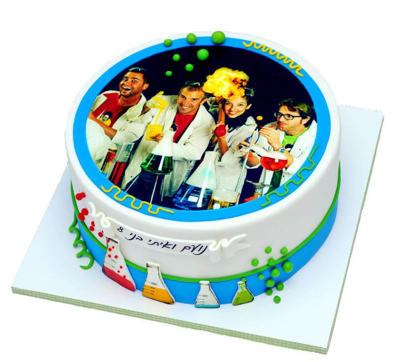 עוגת יום הולדת דר מולקולה