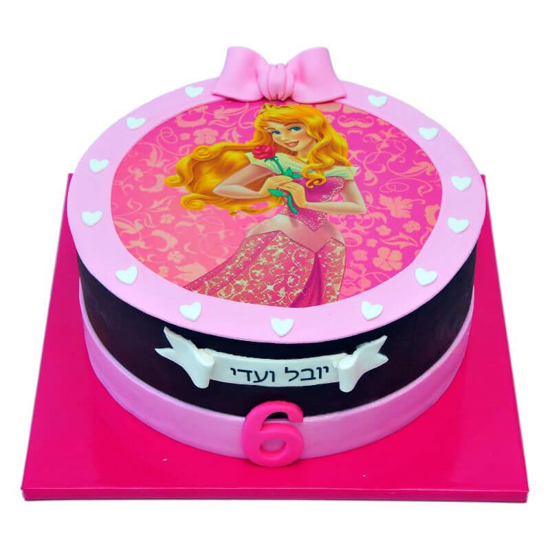 עוגת יום הולדת הנסיכה אורורה