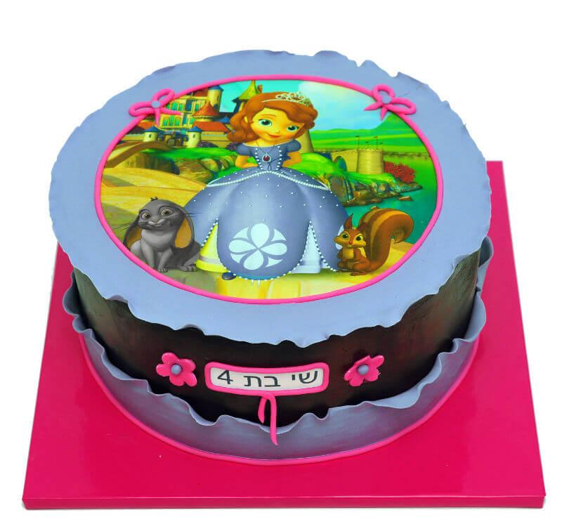 עוגת יום הולדת הנסיכה סופיה