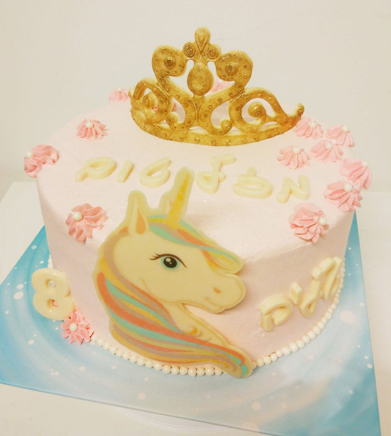 עוגת יום הולדת חד קרן מיוחדת