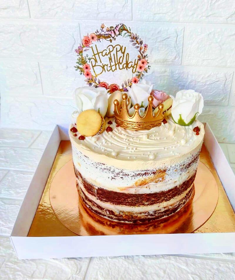 עוגת יום הולדת טבעונית להזמנה
