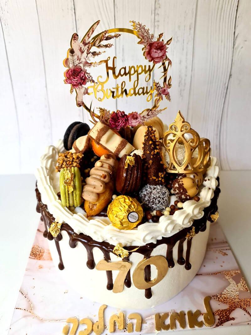 עוגת יום הולדת לאמא המלכה