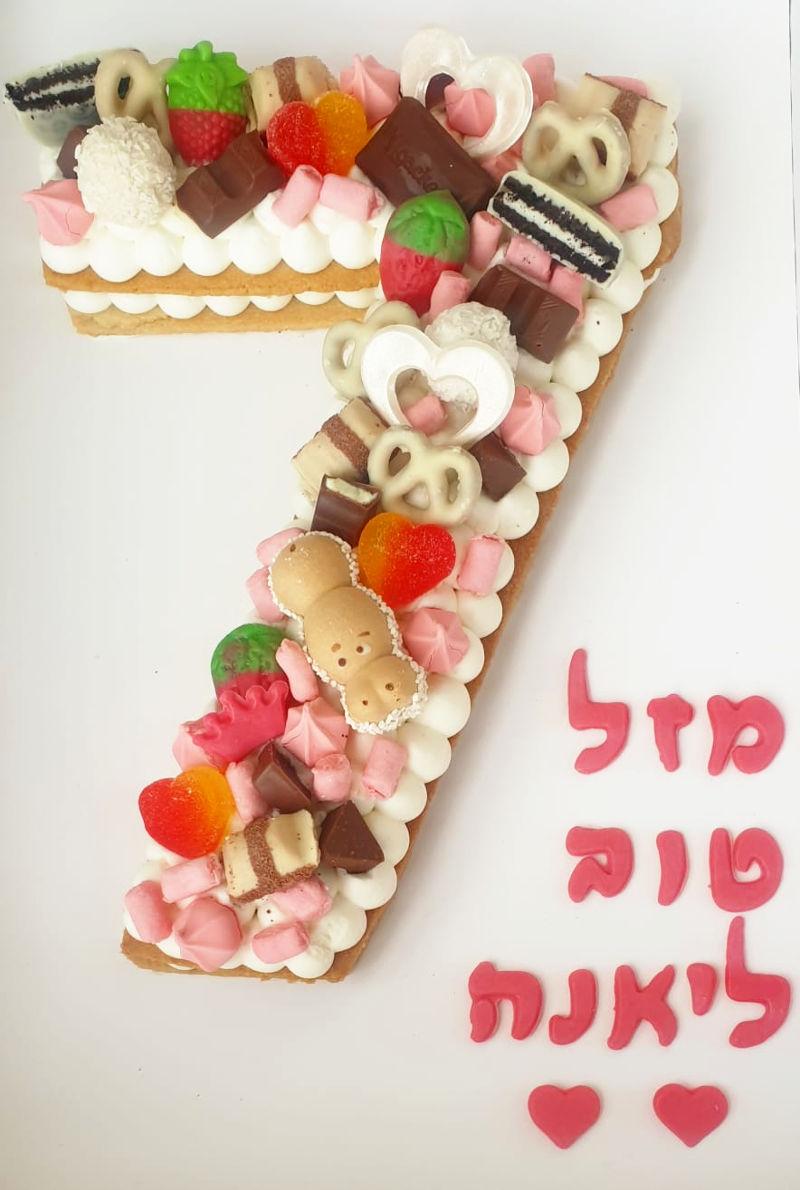 עוגה ליום הולדת בנות