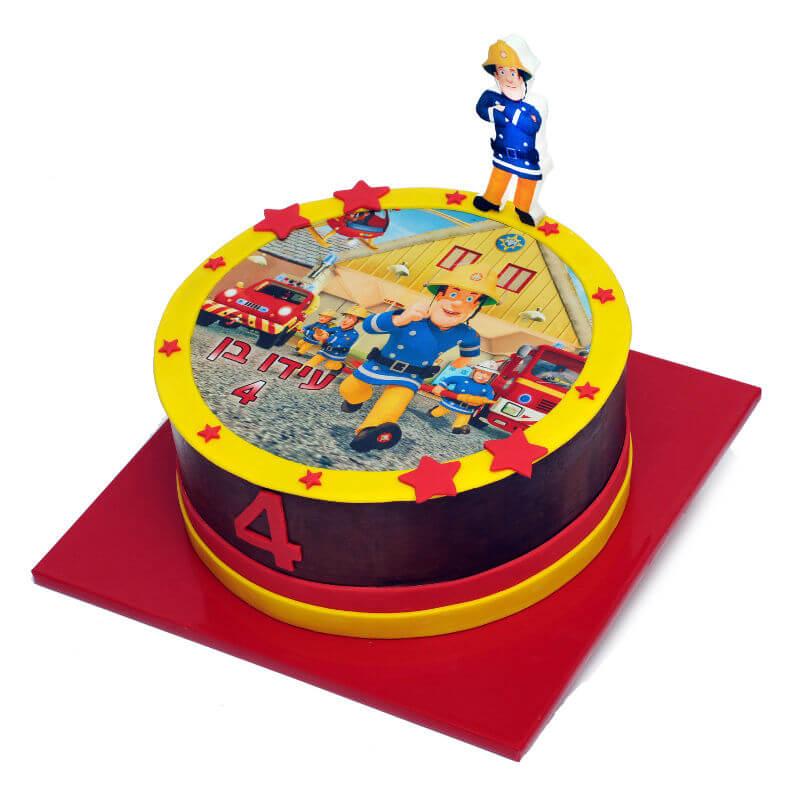 עוגת יום הולדת לבנים סמי הכבאי