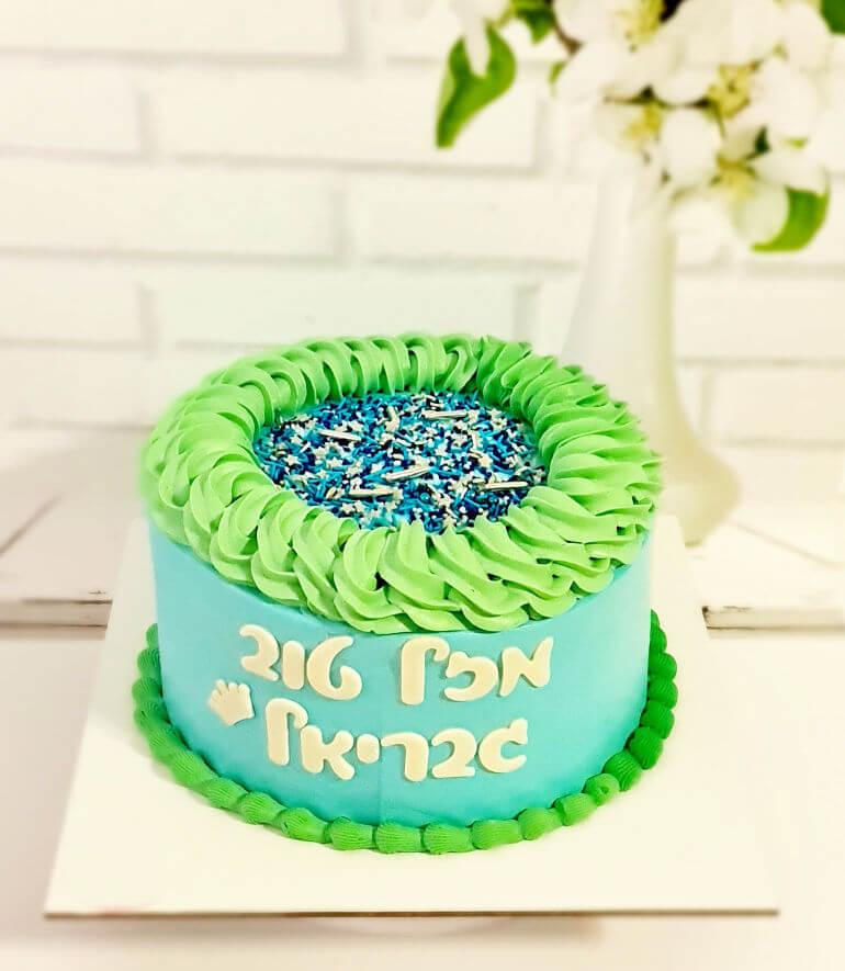 עוגת יום הולדת לבנים