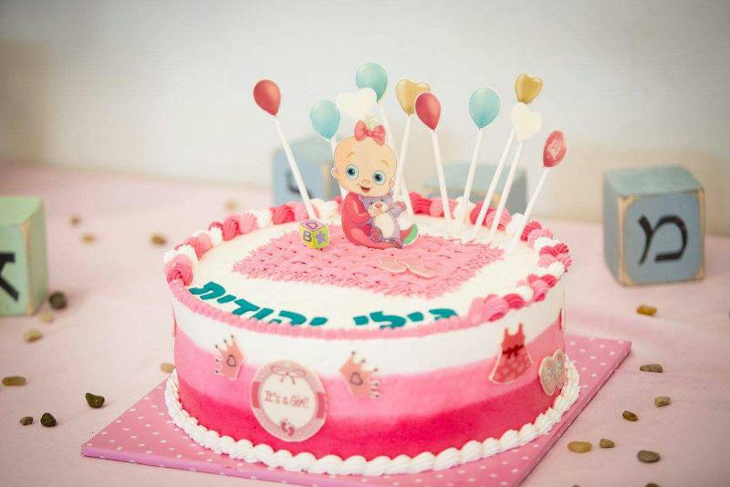 עוגת יום הולדת לבריתה