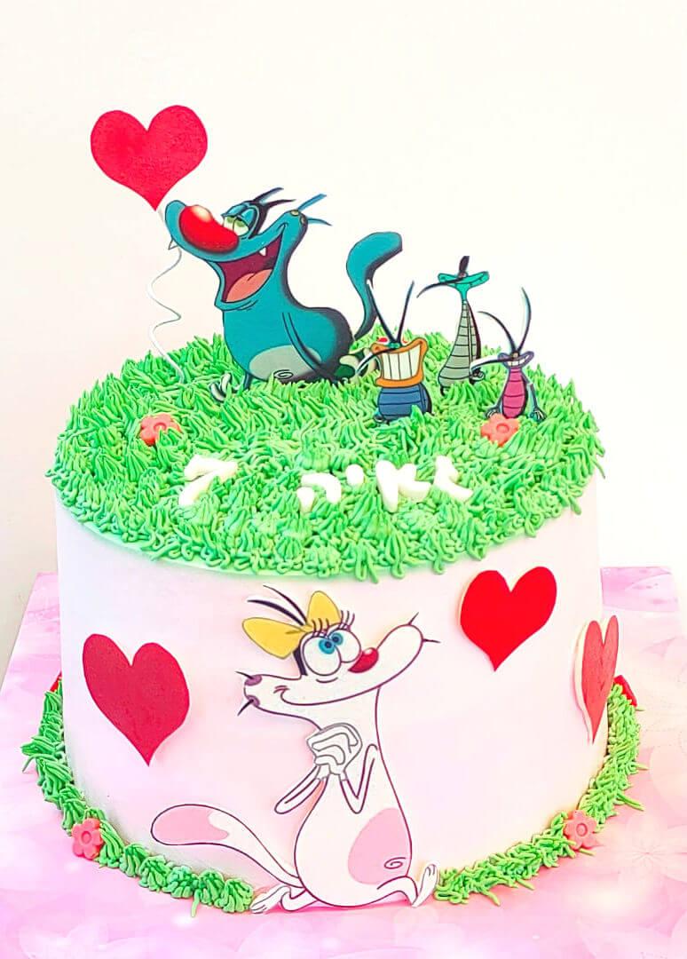 עוגת יום הולדת מהממת לבת