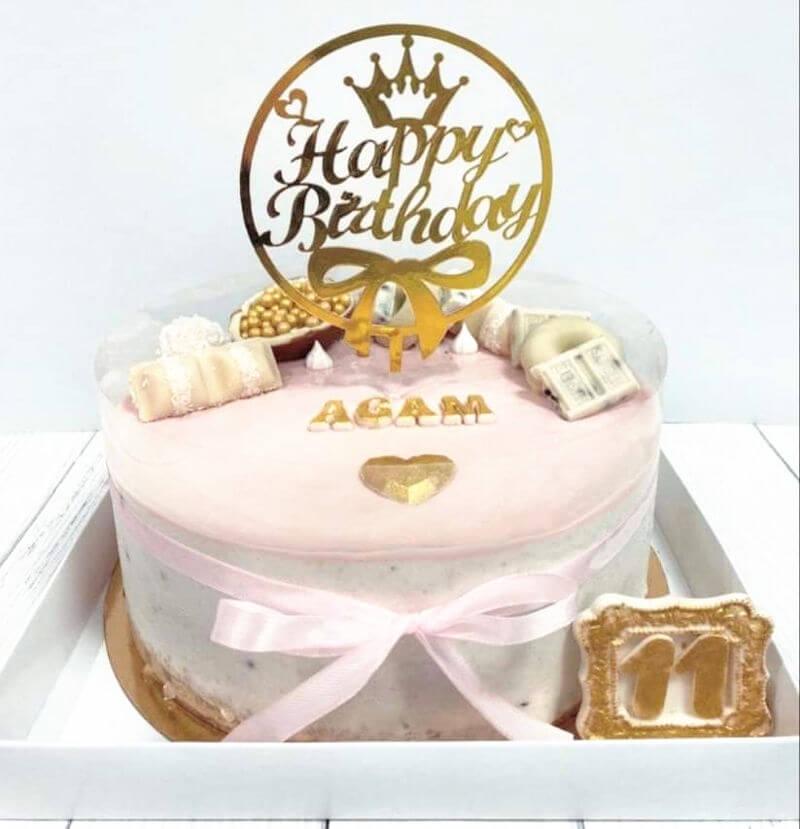 עוגת יום הולדת מקסימה לבת