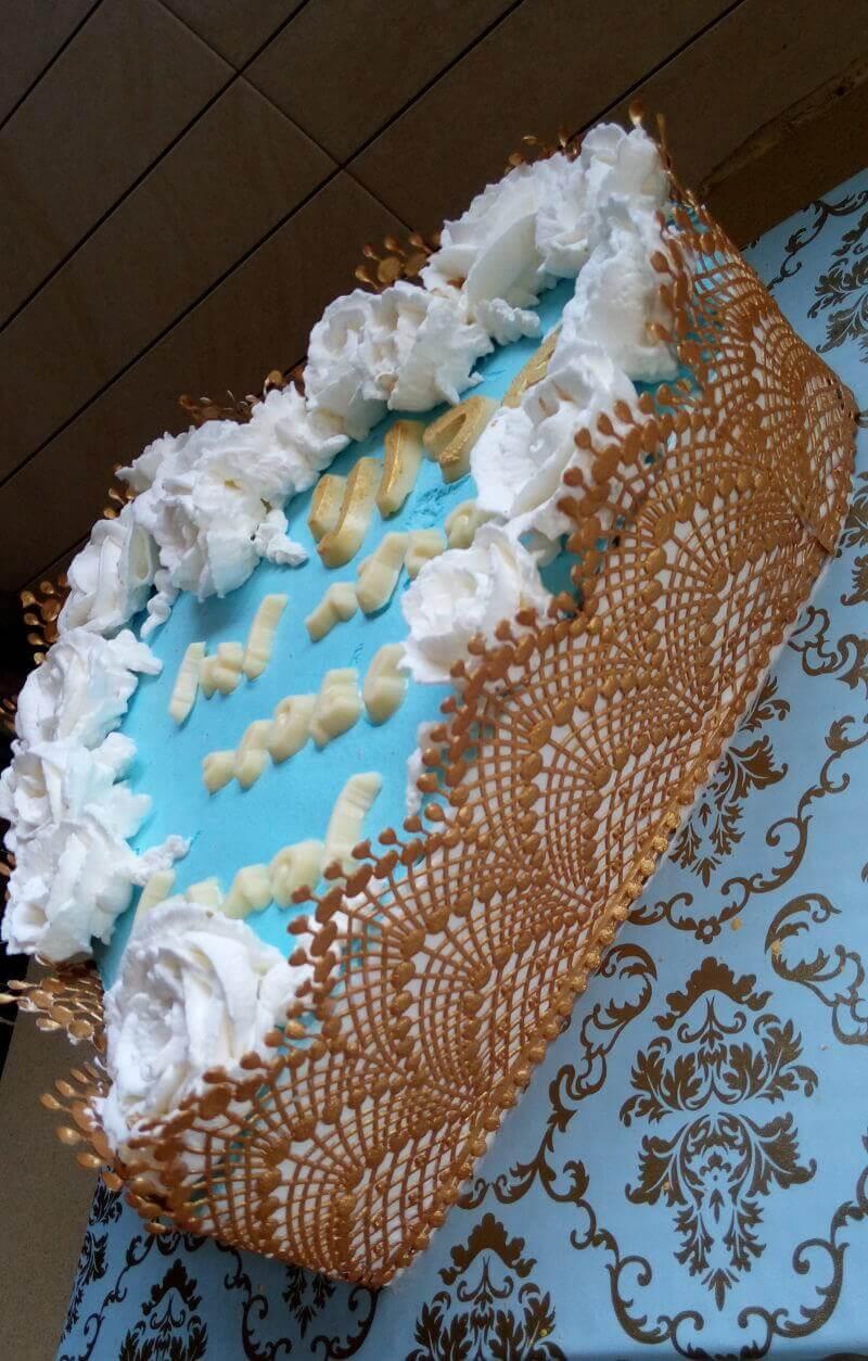 עוגת יום הולדת לב