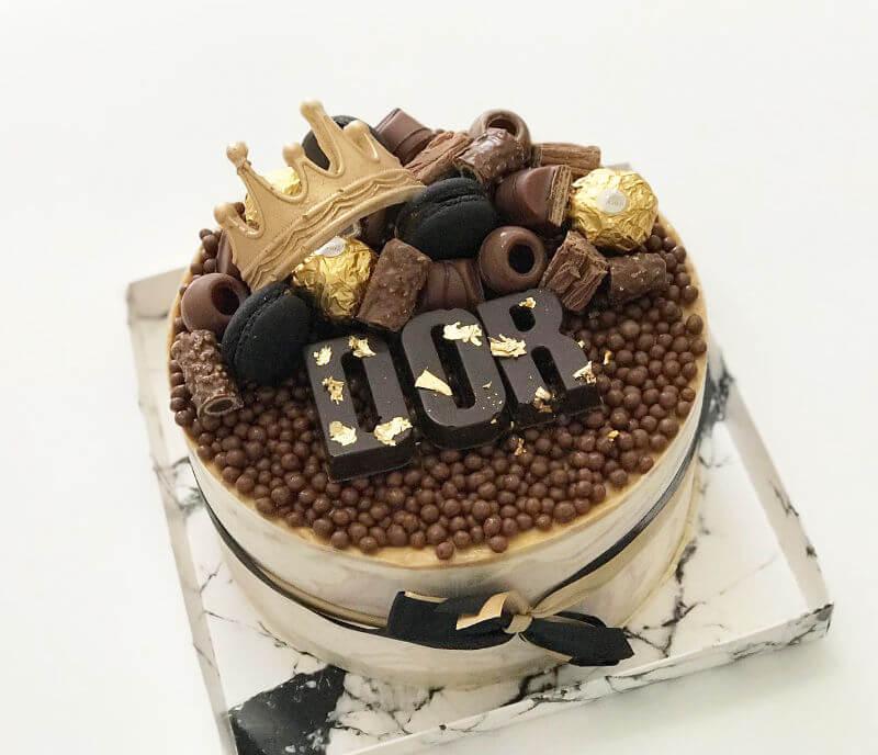 עוגת יום הולדת לגבר