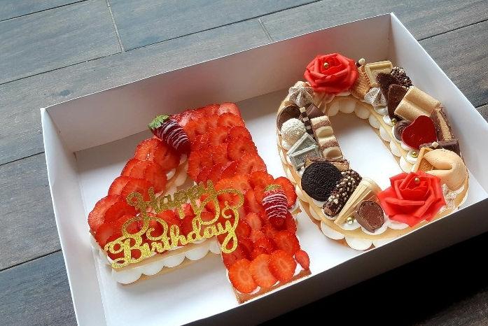 עוגת יום הולדת לגיל 40