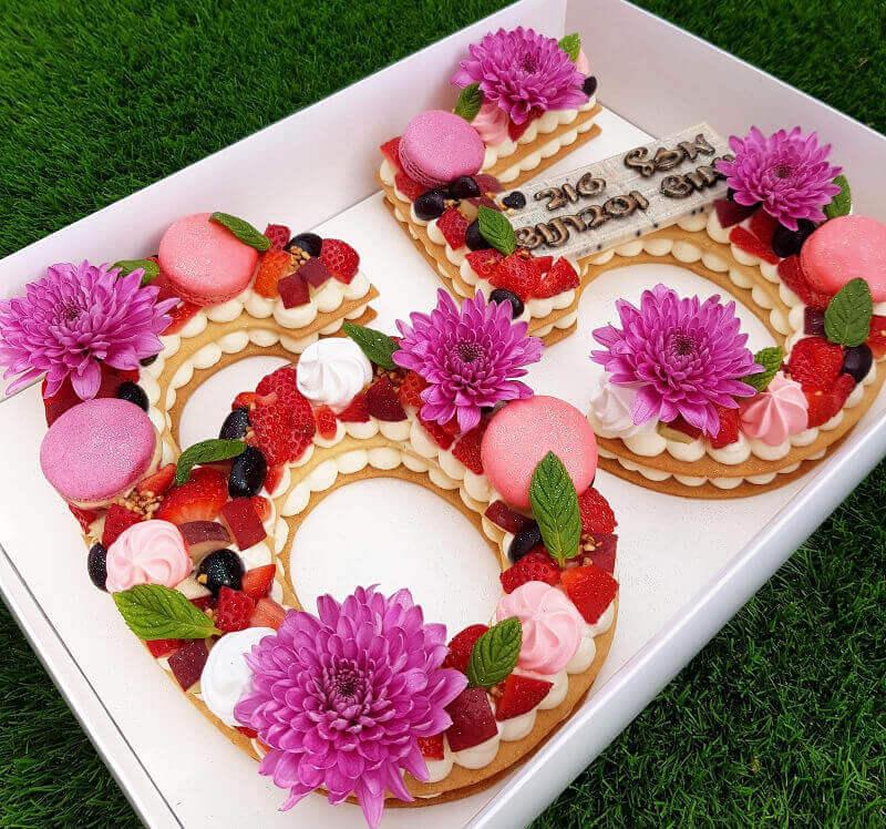 עוגת יום הולדת לגיל 65