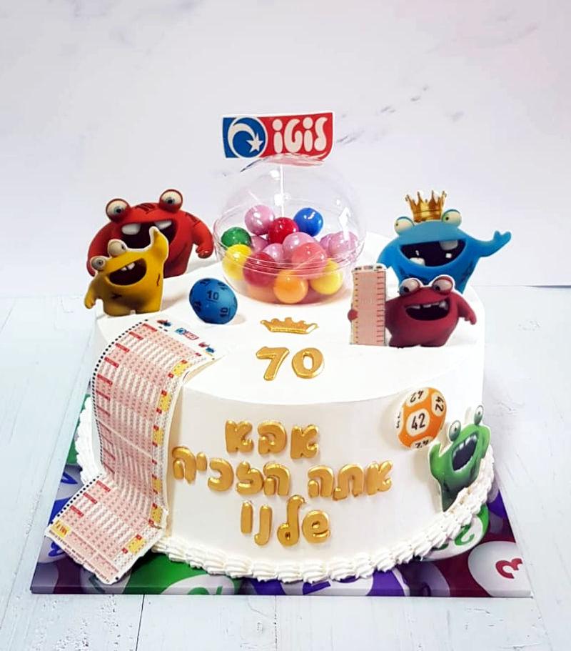 עוגת יום הולדת לוטו