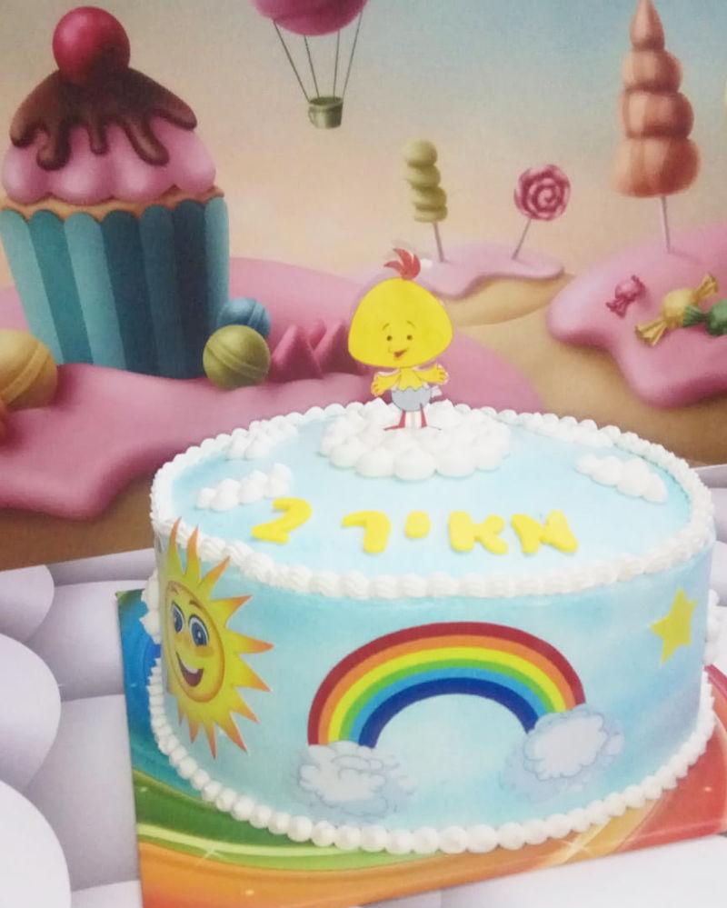 עוגת יום הולדת קטנטנים של לולי