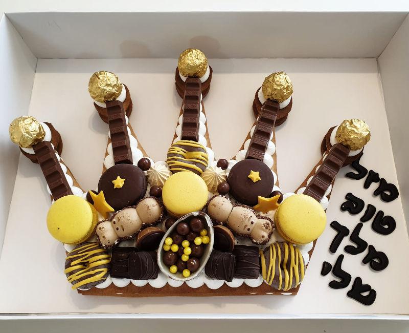 עוגת יום הולדת למלך