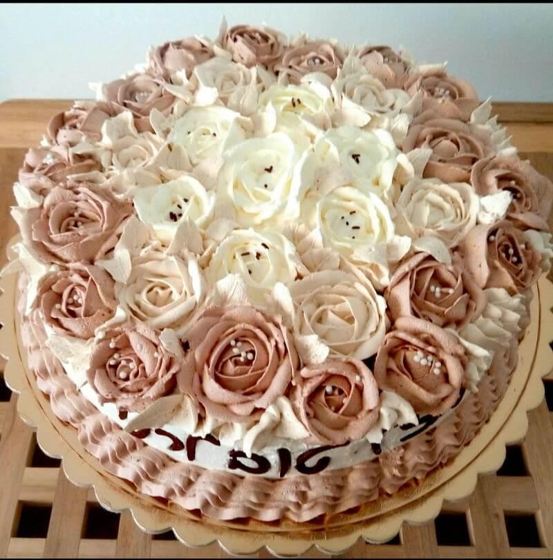 עוגת-יום-הולדת-פרחים